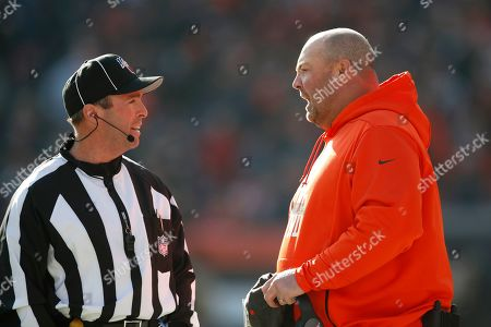 Editorial photo of Dolphins Browns Football, Cleveland, USA - 24 Nov 2019