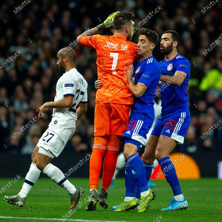 Editorial photo of Tottenham Hotspur v Olympiacos, UEFA Champions League, Group B, Matchday 5 of 6, Football,  Tottenham Hotspur Stadium, White Hart Lane, Tottenham, London, UK - 26 Nov 2019