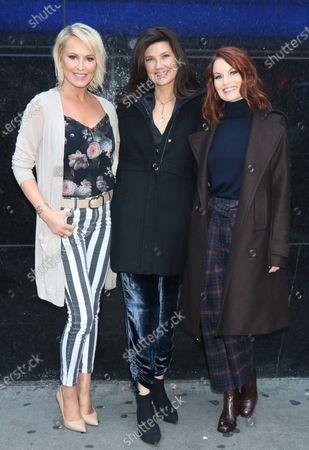 Josie Bissett, Daphne Zuniga and Laura Leighton