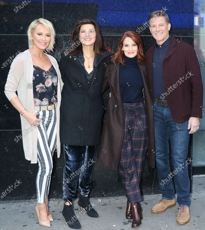 Editorial image of 'Strahan, Sara & Keke' TV show, New York, USA - 26 Nov 2019