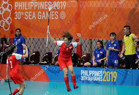 Editorial image of SEA Games Floorball, Manila, Philippines - 27 Nov 2019