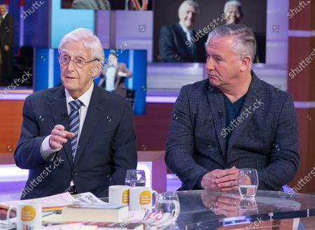 Sir Michael Parkinson and Mike Parkinson