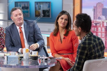 Piers Morgan and Susanna Reid with Malcolm Gladwell