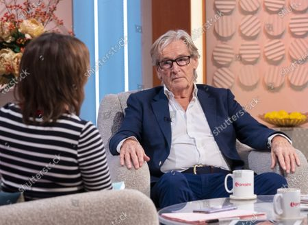Lorraine Kelly and William Roache