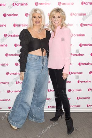 Anthea Turner and Lily Bovey