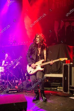 Editorial image of Tyler Bryant & The Shakedown in concert at O2 Kentish Town Forum, London, UK - 26 Nov 2019