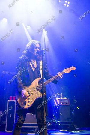 Editorial picture of Tyler Bryant & The Shakedown in concert at O2 Kentish Town Forum, London, UK - 26 Nov 2019