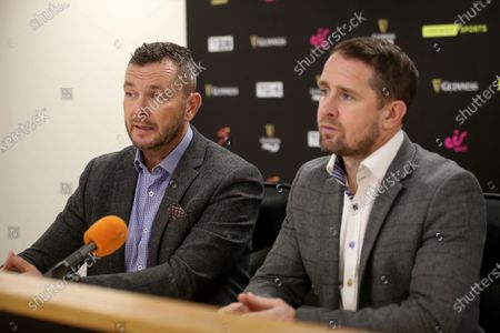Sean Holley and Shane Williams