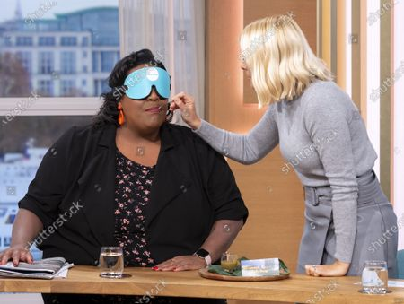 Stock Photo of Alison Hammond and Holly Willoughby