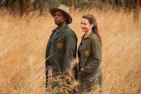 Fezile Mpela as Kristin Davis as Kate