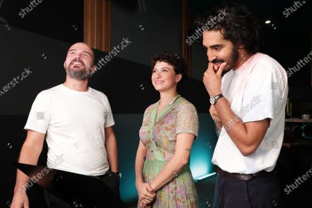 Jeremy Clapin Director, Alia Shawkat (Voice of Gabrielle) and Dev Patel (voice of Naoufel)