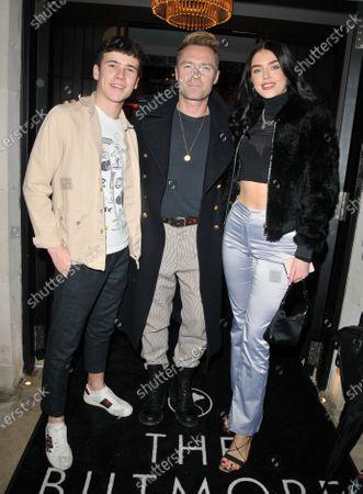 Ronan Keating, Missy Keating and guest