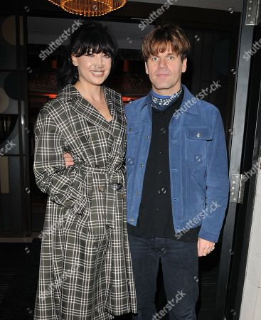 Stock Picture of Daisy Lowe and Jack Penate