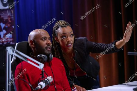 Romany Malco as Rashon 'Rush' Williams and Sonequa Martin-Green as Roxy Richardson
