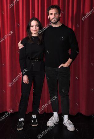 Sam Claflin and Aisling Franciosi