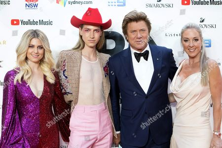 Stock Picture of (L-R) Beck Wilson, Christian Wilkins, Richard Wilkins and Virginia Burmeistery