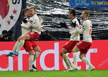 Editorial photo of RB Leipzig vs Benfica Lisbon, Germany - 27 Nov 2019