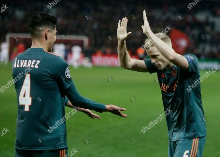 Editorial image of Soccer Champions League, Lille, France - 27 Nov 2019
