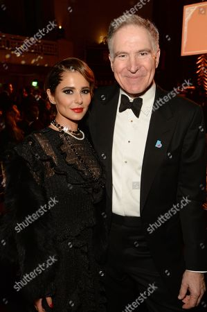 Cheryl and Professor Mark Johnson