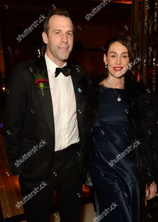 Stock Photo of Greg Rusedski and Lucy Rusedski