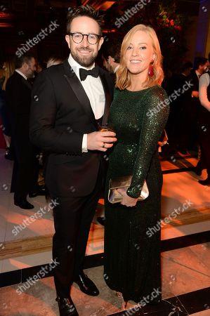 Ben Richardson and Sarah-Jane Mee