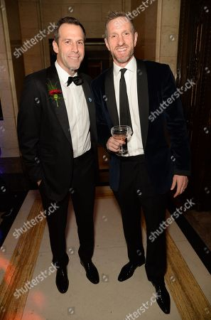 Greg Rusedski and Will Greenwood