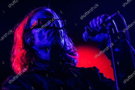 Editorial image of Mark Lanegan in concert at Fabrique, Milan, Italy - 27 Nov 2019