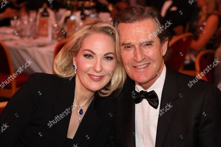 Kathrin Glock and Rupert Everett