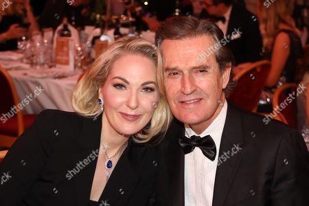 Stock Image of Kathrin Glock and Rupert Everett