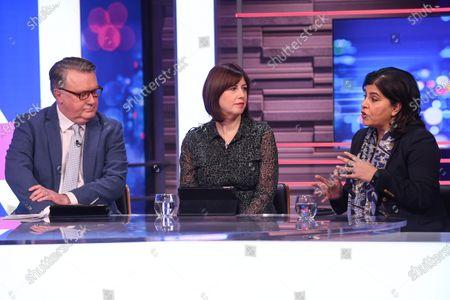 John Nicolson, Lucy Powell, Sayeeda Warsi