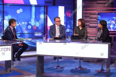 Robert Peston, John Nicolson, Lucy Powell, Sayeeda Warsi