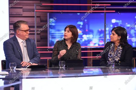 Stock Photo of John Nicolson, Lucy Powell, Sayeeda Warsi