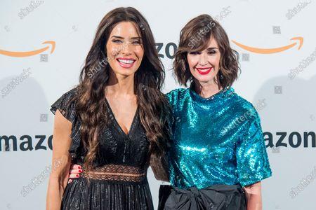 Pilar Rubio and Paz Vega