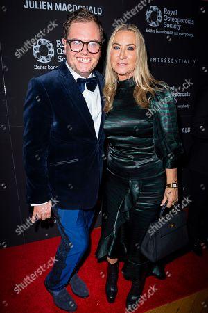 Alan Carr and Meg Mathews