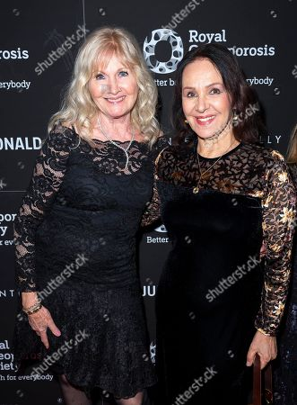 Debbie Moore OBE and Arlene Phillips