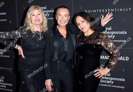Editorial picture of Royal Osteoporosis Society Gala Dinner and Fashion Show, Arrivals, Banqueting House, London, UK - 27 Nov 2019