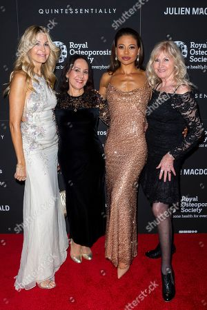 Guest with Arlene Phillips, Viscountess Emma Weymouth and Debbie Moore OBE