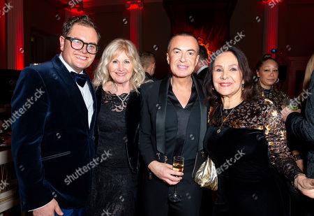 Stock Photo of Alan Carr, Debbie Moore OBE, Julien MacDonald and Arlene Phillips