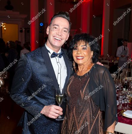 Craig Revel Horwood and Dame Shirley Bassey