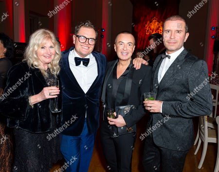 Editorial picture of Royal Osteoporosis Society Gala Dinner and Fashion Show, Inside, Banqueting House, London, UK - 27 Nov 2019