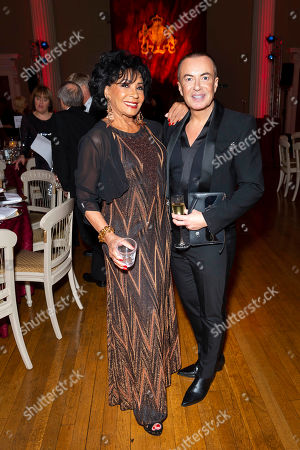 Dame Shirley Bassey and Julien MacDonald