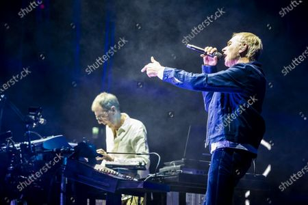 Editorial picture of Underworld in concert at the Ziggo Dome, Amsterdam, Netherlands - 23 Nov 2019