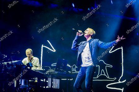 Editorial photo of Underworld in concert at the Ziggo Dome, Amsterdam, Netherlands - 23 Nov 2019