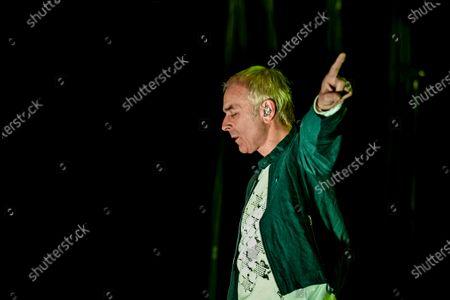 Editorial image of Underworld in concert at the Ziggo Dome, Amsterdam, Netherlands - 23 Nov 2019