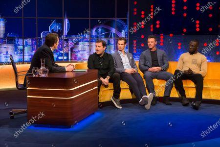 Jonathan Ross, Adam Kay, Andy Murray, Luke Evans, Stormzy