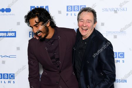 Dev Patel and Paul Whitehouse