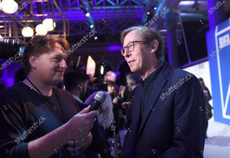 Editorial image of 22nd British Independent Film Awards, Roaming Arrivals, Old Billingsgate, London, UK - 01 Dec 2019
