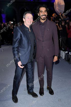 Paul Whitehouse and Dev Patel