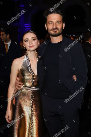 Stock Picture of Exclusive - Jessica Barden and Barnaby Southcomb