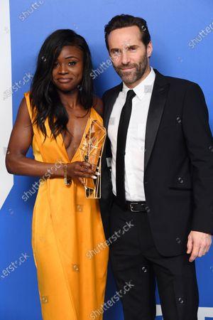 Editorial picture of 22nd British Independent Film Awards, Press Room, Old Billingsgate, London, UK - 01 Dec 2019